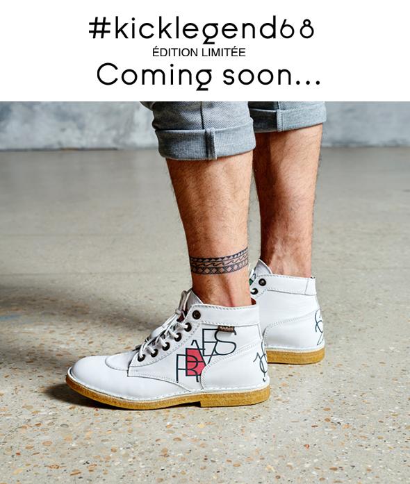 #kicklegend68 édition limitée coming soon..
